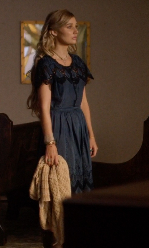 Clare Bowen with ModCloth Indie Darling Dress in Nashville
