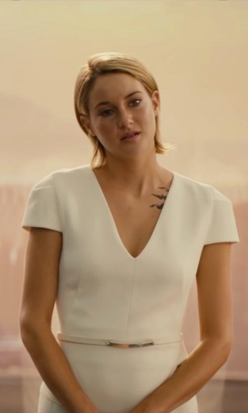 Shailene Woodley with Fiorangelo Thin Belt in The Divergent Series: Allegiant