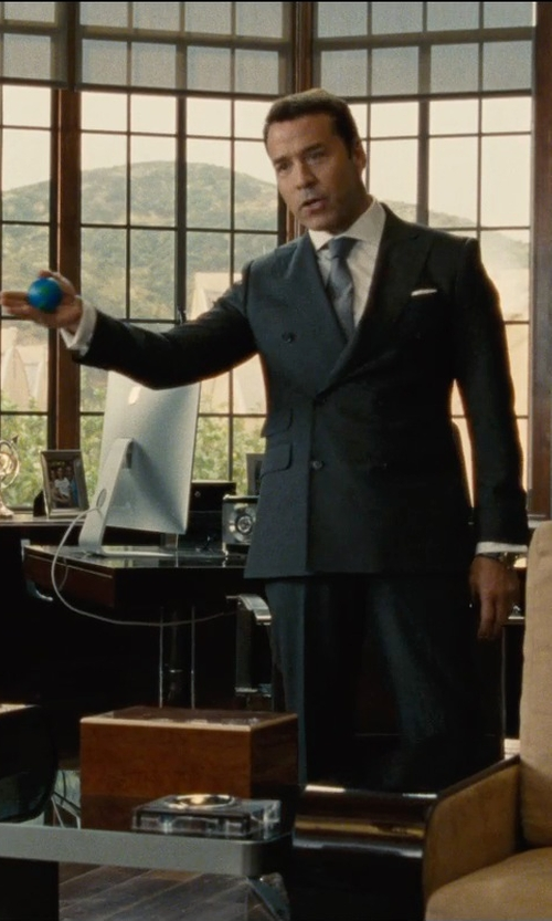 Jeremy Piven with Handstands Cyber Gel Squeeze Ball in Entourage
