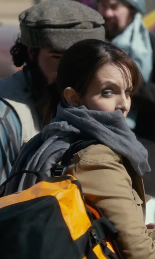Tina Fey with Stefanel Gauze Scarf in Whiskey Tango Foxtrot