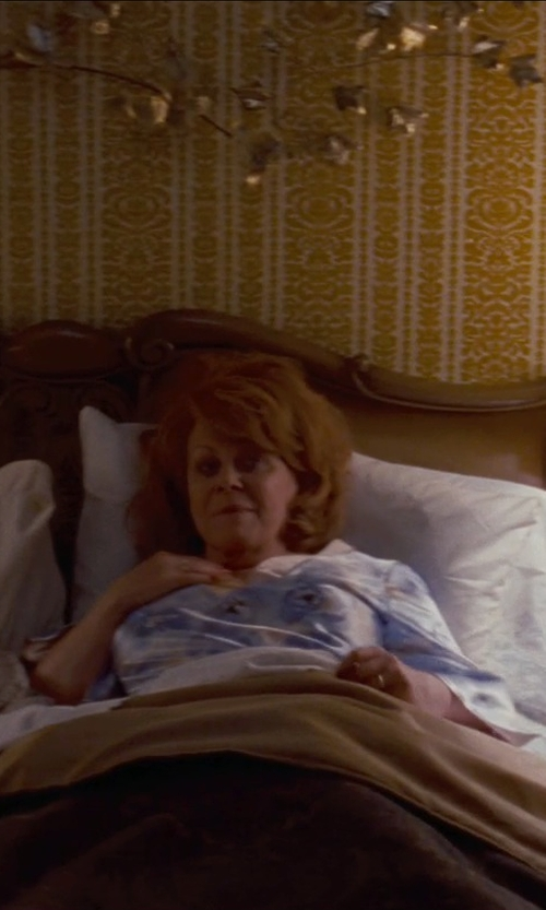 Jacki Weaver with L.L.Bean Women's Supima Cotton Nightgown in Silver Linings Playbook