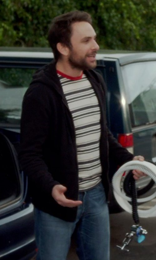 Charlie Day with Diesel Men's Larkee Regular Straight-Leg Jean in Horrible Bosses 2