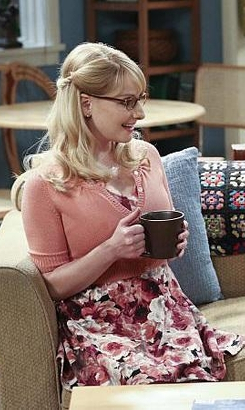 Melissa Rauch with Anonyme Designers Short Dress in The Big Bang Theory