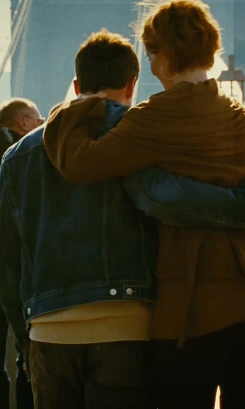 David Eigenberg with Levi's Men's The Trucker Jacket in Sex and the City