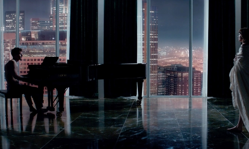 Jamie Dornan with Escala Seattle, Washington in Fifty Shades of Grey