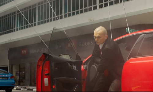 Rupert Friend with MPH Bookstores Singapore in Hitman: Agent 47