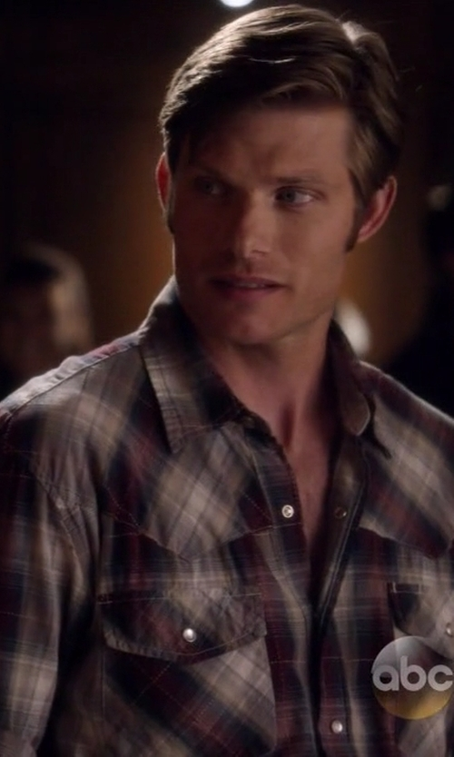 Chris Carmack with Gant Rugger R. Windblown Twill Shirt in Nashville