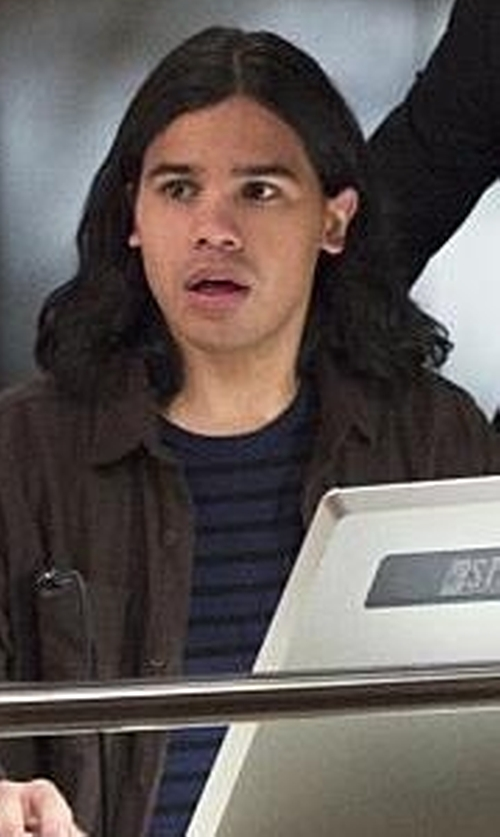 Carlos Valdes with Obey Hayes Tee in The Flash