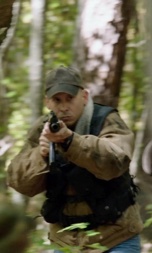 Unknown Actor with Ben Sherman Men's Herringbone Military Cap in Sabotage