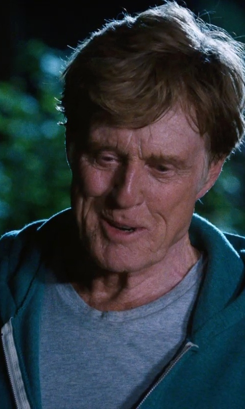 Robert Redford with C-IN2 Men's Core Basic Crew Neck Tee Shirt in A Walk in the Woods