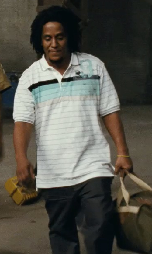 Tego Calderon with Dolce & Gabbana Casual pants in Fast Five