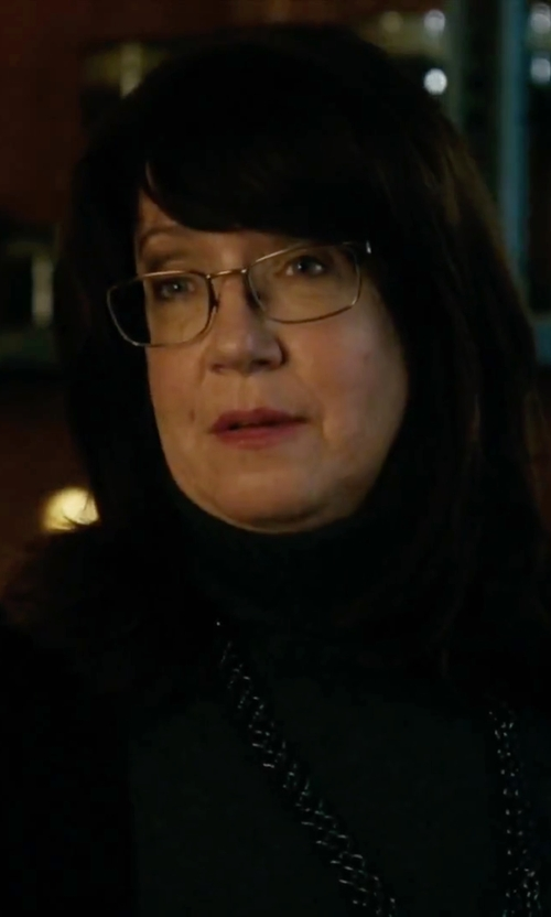 Ann Dowd with Vince Favorite Turtleneck Tee in Our Brand Is Crisis