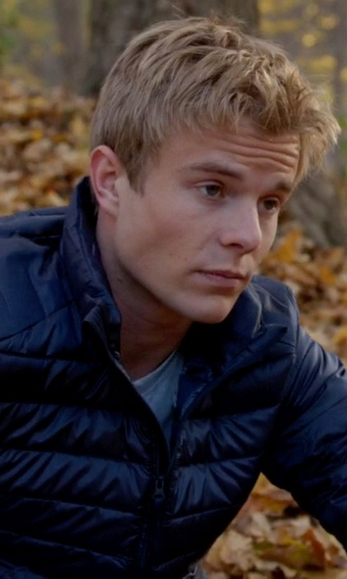 Graham Rogers with Buffalo David Bitton Quilted Jacket in Quantico