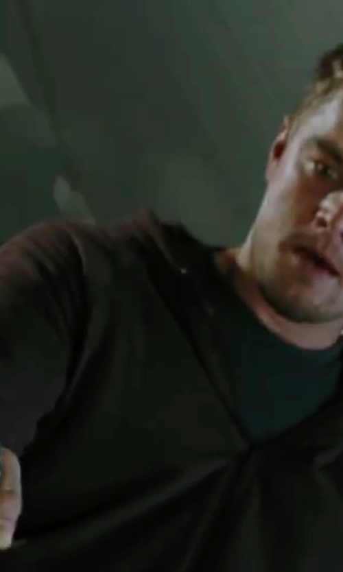 Leonardo DiCaprio with Bottega Veneta Cotton Jersey Hoodie in The Departed