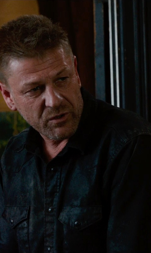 Sean Bean with Diesel New-Sonora Shirt in Jupiter Ascending