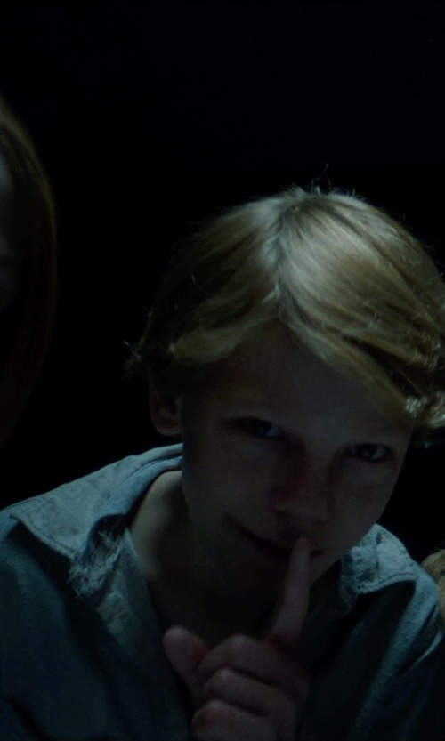 Jaden Klein with J.Crew Secret Wash Utility Shirt in Sinister 2