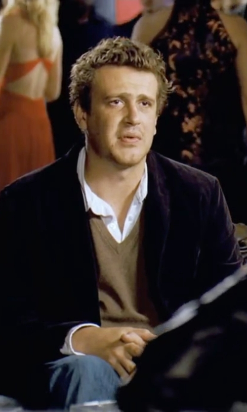 Jason Segel with Ben Sherman Wool Jacket in Forgetting Sarah Marshall