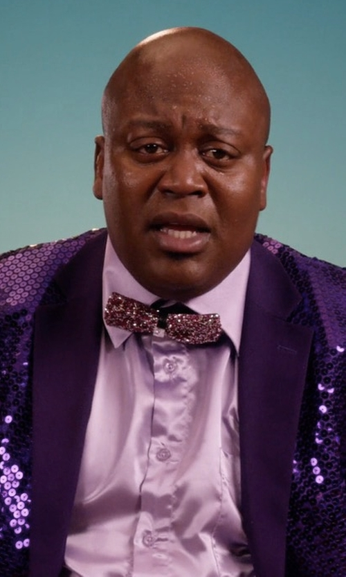 Tituss Burgess with Concitor Solid Suit Jacket in Unbreakable Kimmy Schmidt