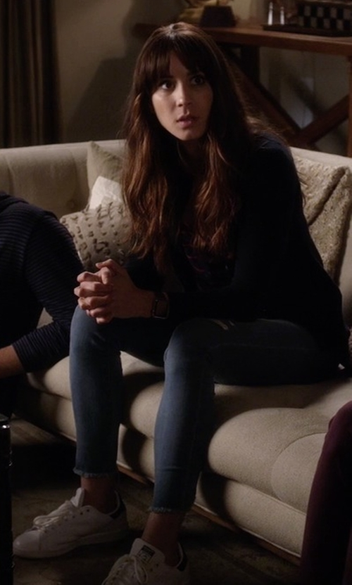 Troian Bellisario with Adidas 'Stan Smith' Sneakers in Pretty Little Liars