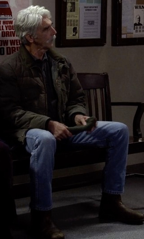Sam Elliott with Andrew Marc Moore Boots in The Ranch