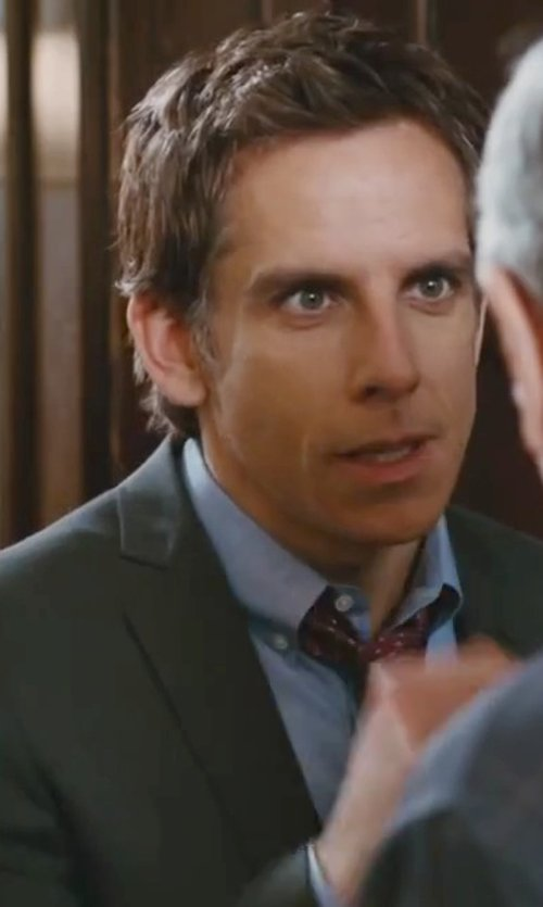 Ben Stiller with Theory Zack Denhoff Shirt in Little Fockers