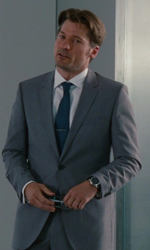 Nikolaj Coster-Waldau with Tom Ford Made To Measure 2-Button Wool Suit in The Other Woman