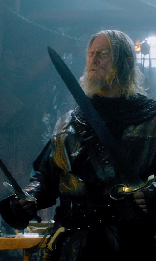 Jeff Bridges with Whetstone Cutlery Masonic Short Sword in Seventh Son