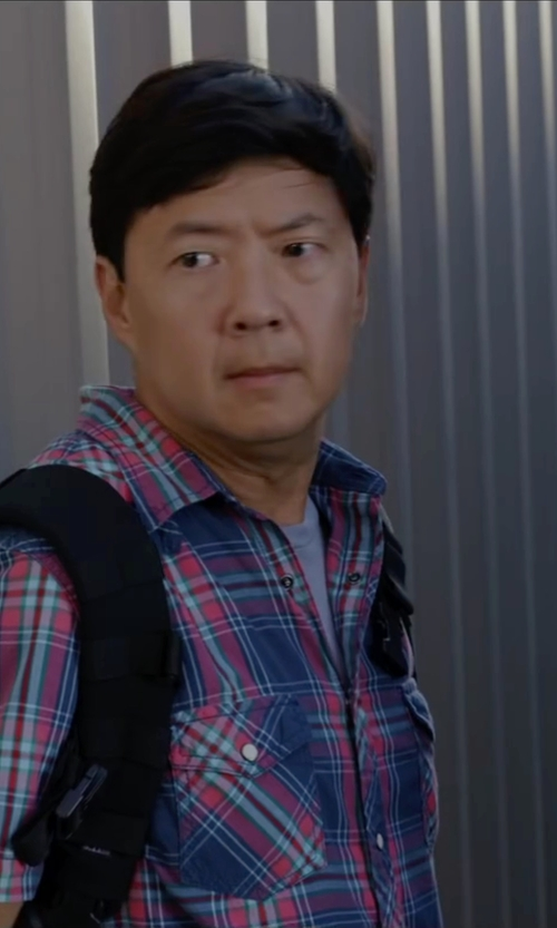 Ken Jeong with Nudie Jeans Organic Cotton T-Shirt in Ride Along 2