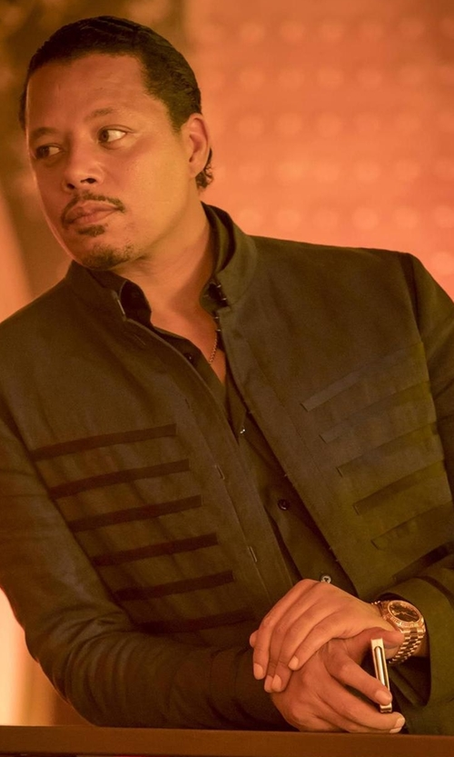 Terrence Howard  with Movado Esperanza Watch in Empire