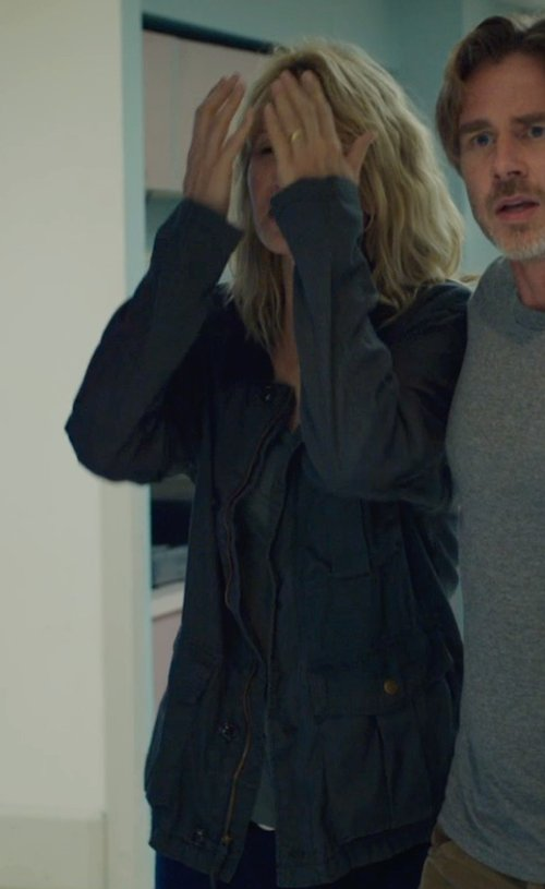 Laura Dern with WOOLRICH sports jacket in The Fault In Our Stars