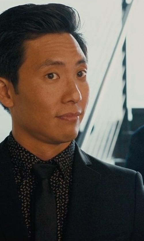 Kelvin Yu with DSQUARED2 Two-Piece Suit in Master of None