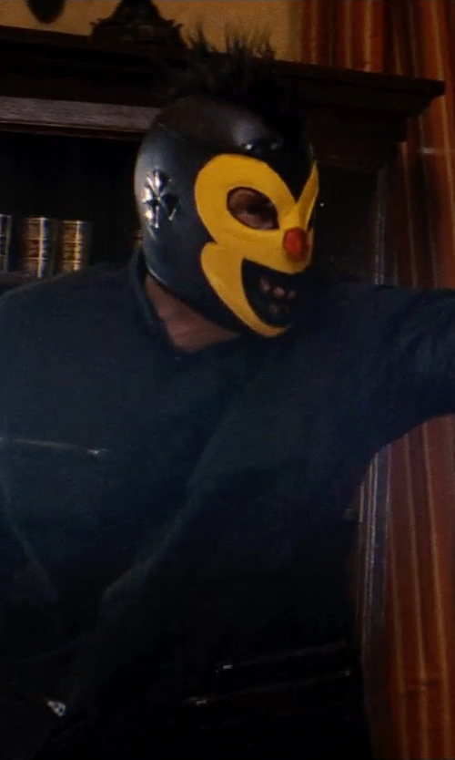 Unknown Actor with Mask Maniac Shocker Adult Lucha Libre Wrestling Mask in Hot Pursuit