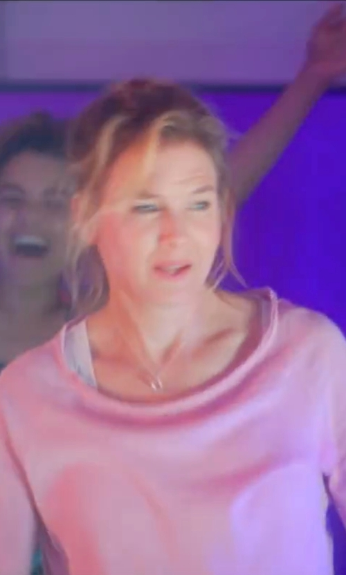Renée Zellweger with Three Dots Nancy Top in Bridget Jones's Baby