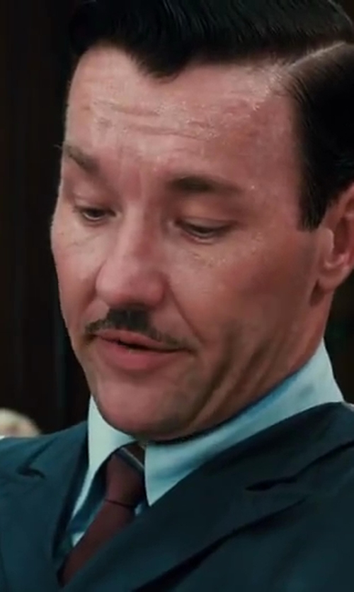 Joel Edgerton with Jos. A. Bank Signature Geo Medallion Tie in The Great Gatsby