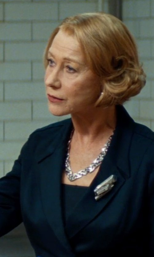 Helen Mirren with Wolford Fatal Tube Top in The Hundred-Foot Journey
