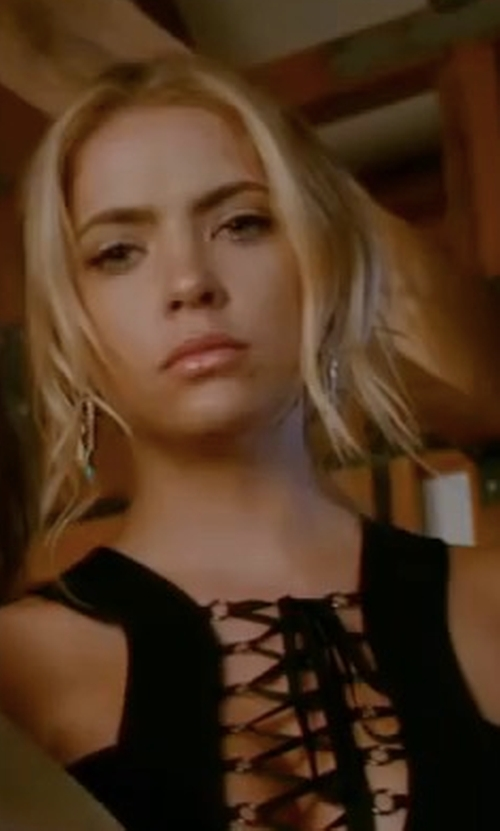 Ashley Benson with Lionette by Noa Sade Navada Earrings in Pretty Little Liars