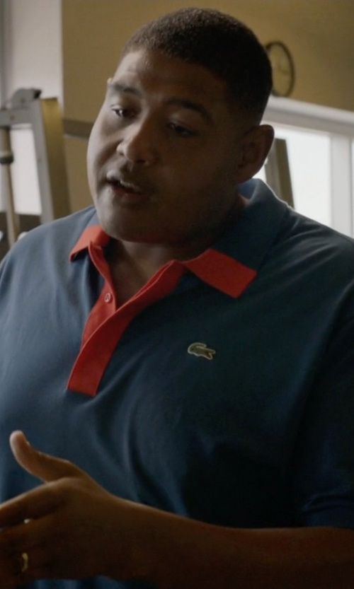 Omar Benson Miller with Jewelplus Comfort Fit Wedding Band in Ballers