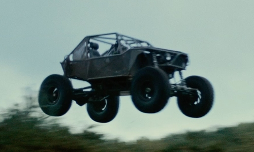 Henry Cavill with Custom 'Rock Crawler' Dakar-Style Beach Buggy Vehicle in The Man from U.N.C.L.E.