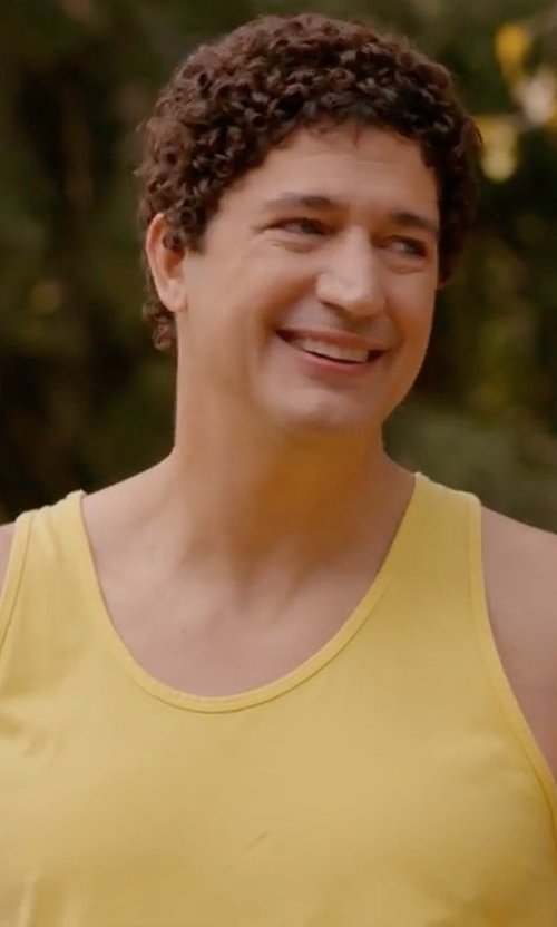 Ken Marino with 4-rth Sustain Tank Top in Wet Hot American Summer: Ten Years Later