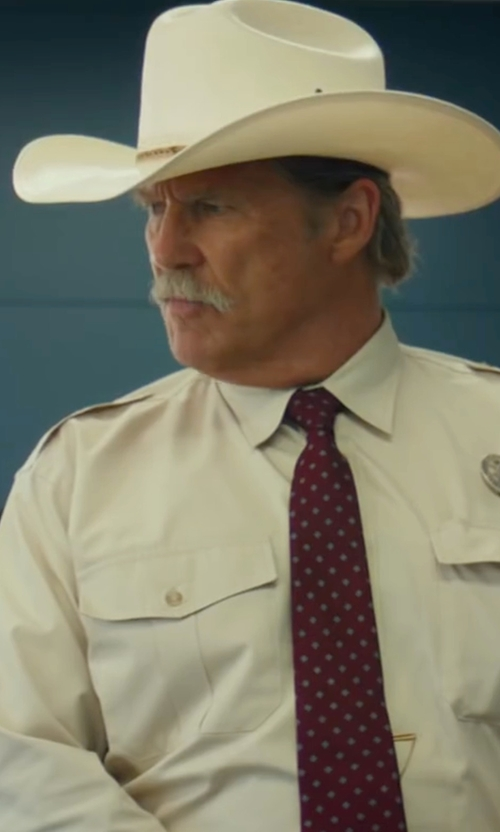 Jeff Bridges with Resistol Tucker Felt Cowboy Hat in Hell or High Water