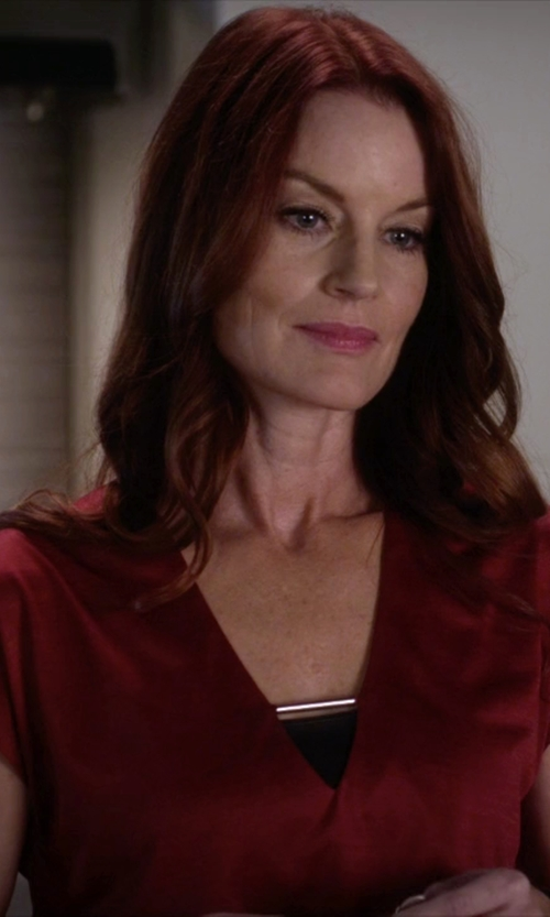 Laura Leighton with Flavio Castellani Tube Top in Pretty Little Liars