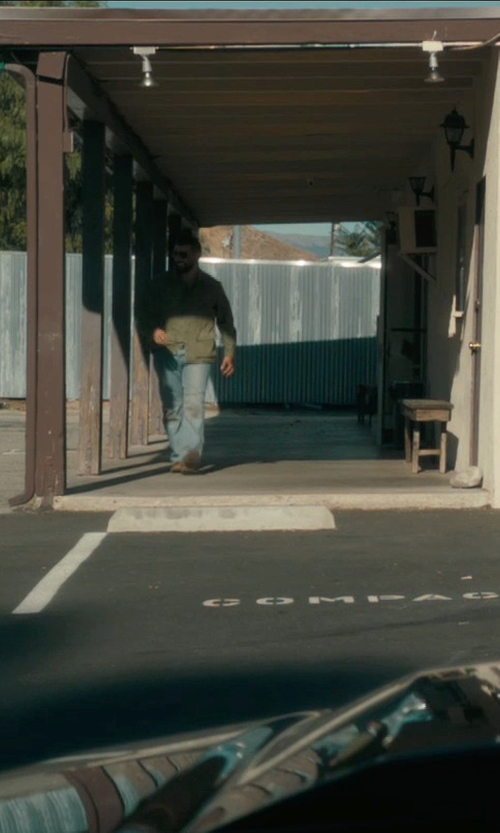 Oscar Isaac with Red Wing Beckman Boots in Drive