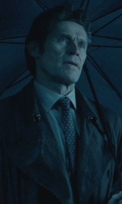 Willem Dafoe with Tasso Elba Siena Medallion Tie in John Wick