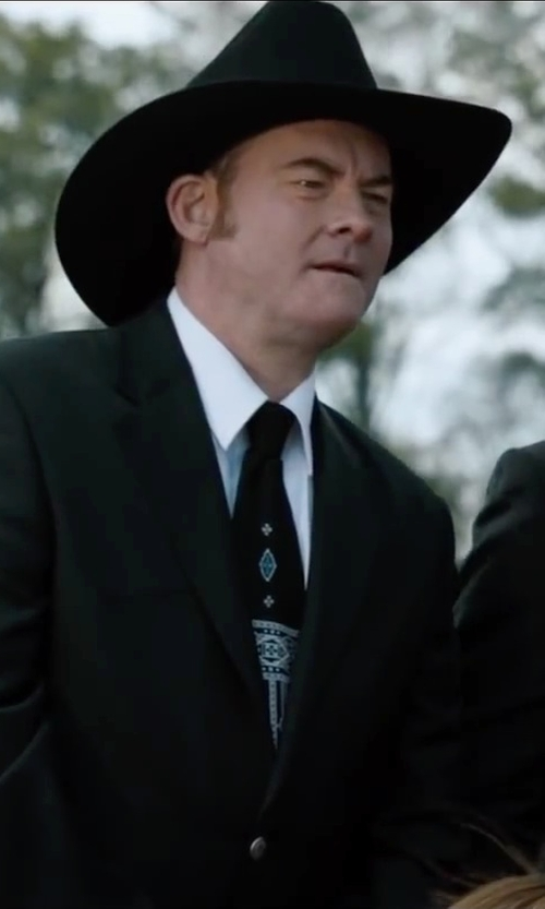 David Koechner with Steven Alan Pinpoint Oxford Classic Shirt in Anchorman 2: The Legend Continues