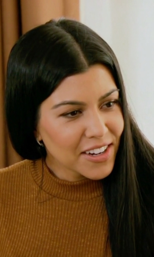 Kourtney Kardashian with Naked Wardrobe I Got The Scoop Mini Dress in Keeping Up With The Kardashians