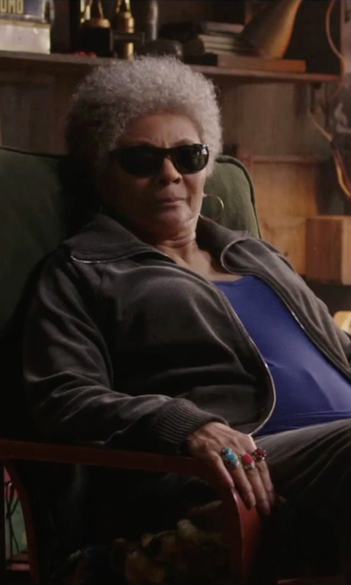 Leslie Uggams with Aha Life Talon Stone Ring in Deadpool