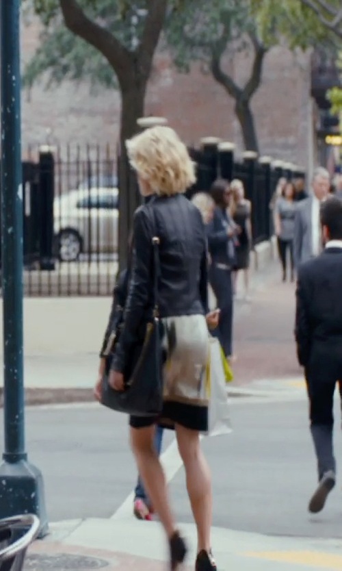 Rachael Taylor with Salvatore Ferragamo Fanisa Hobo Bag in The Loft