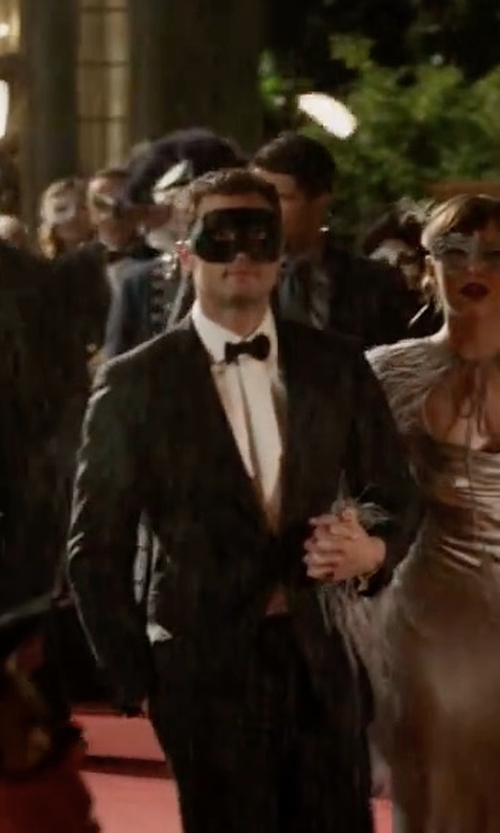 Jamie Dornan with Luxury Mask High Quality Venetian Party Mask in Fifty Shades Darker