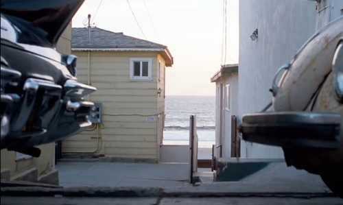 Joaquin Phoenix with 4210 Ocean Drive Manhattan Beach, California in Inherent Vice