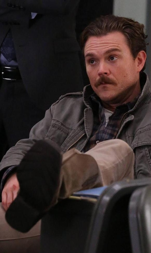 Clayne Crawford with Ariat Rambler Western Cowboy Boots in Lethal Weapon
